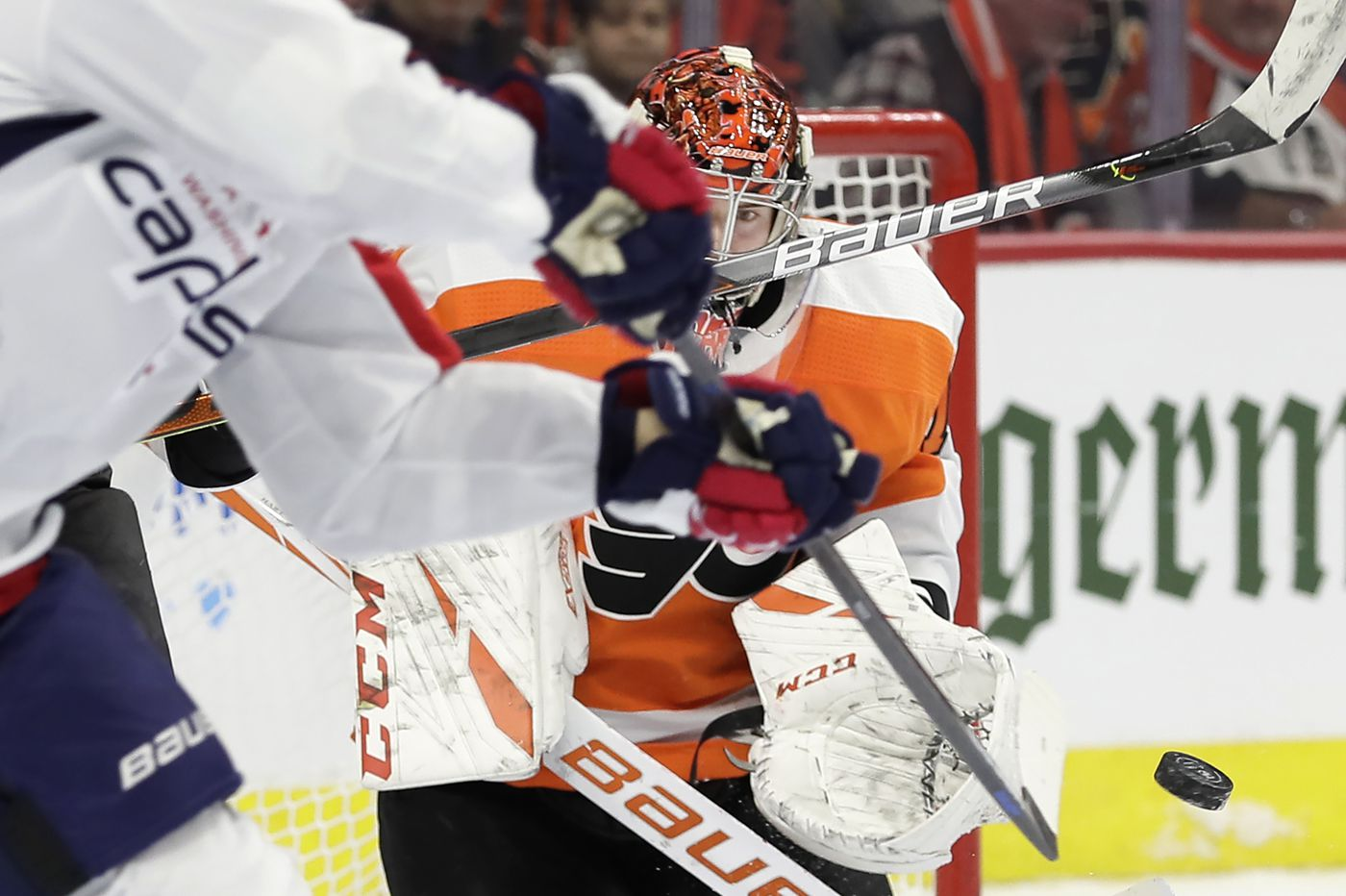 Flyers won't look past Ottawa, coach Alain Vigneault says, and sizzling Carter Hart will get another start in goal