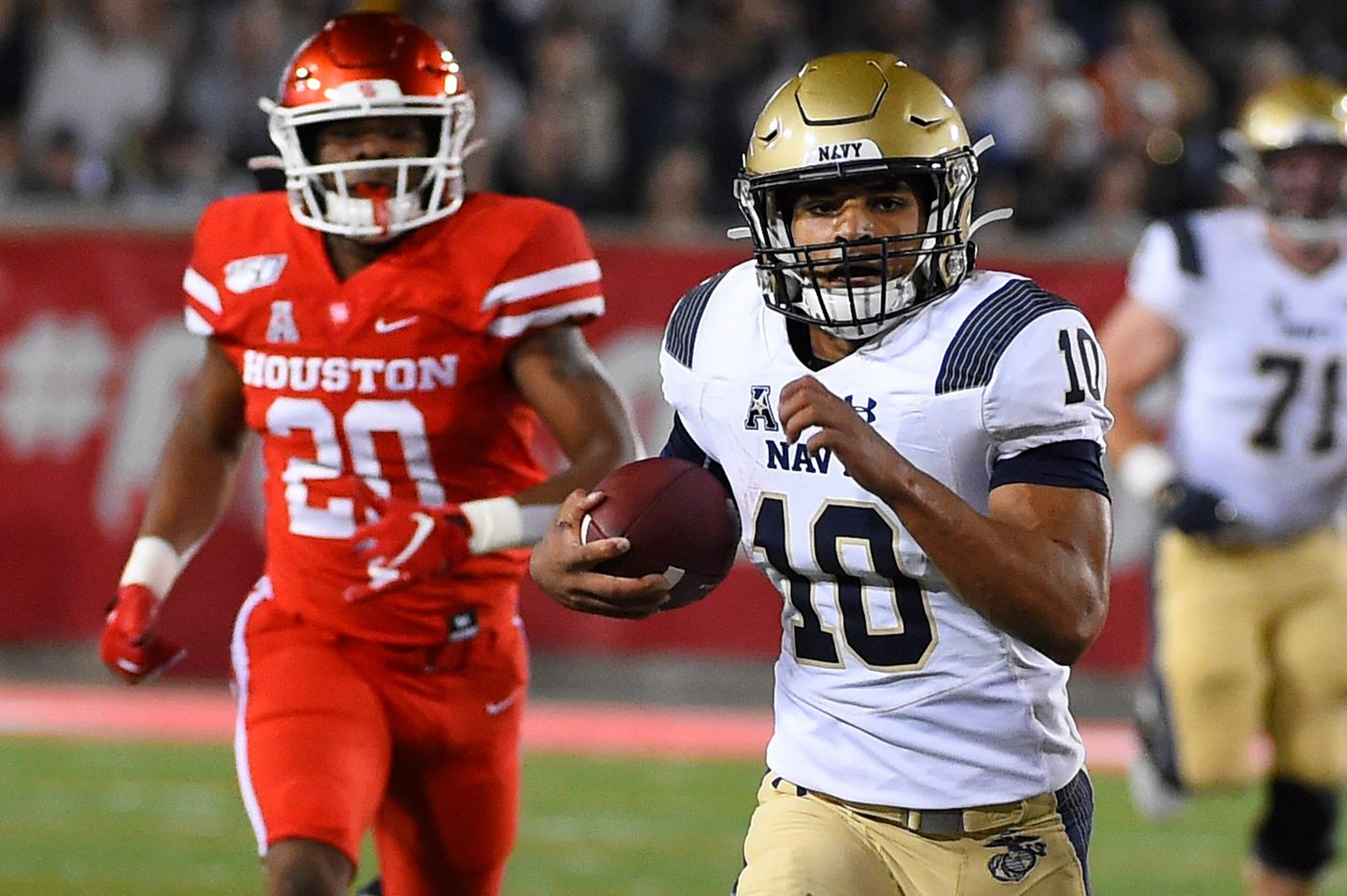 Malcolm Perry has helped lead Navy to success as a full-time quarterback