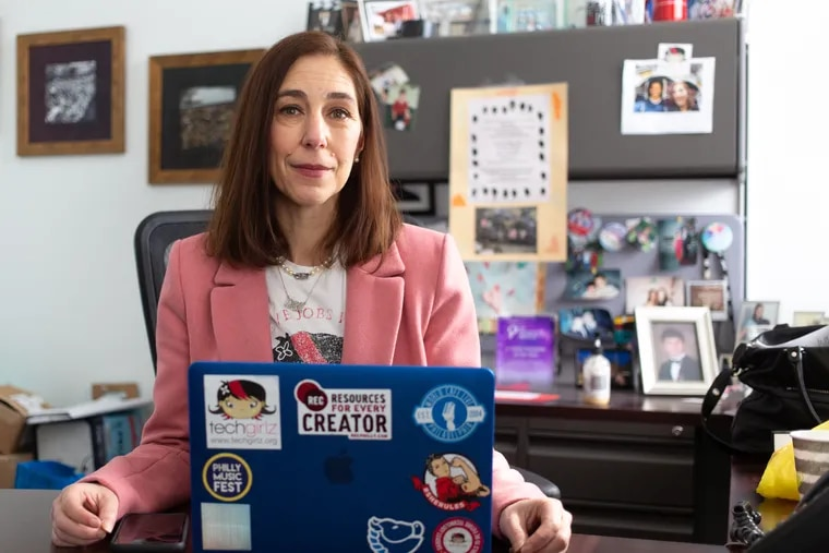 Tracey Welson-Rossman, founder of TechGirlz, which aims to bring technology education to middle school girls in order to inspire their career choices.