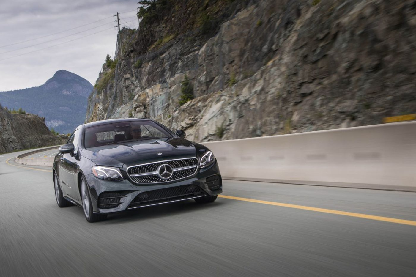 2018 Mercedes-Benz E400 Coupe is a sporty, luxury car