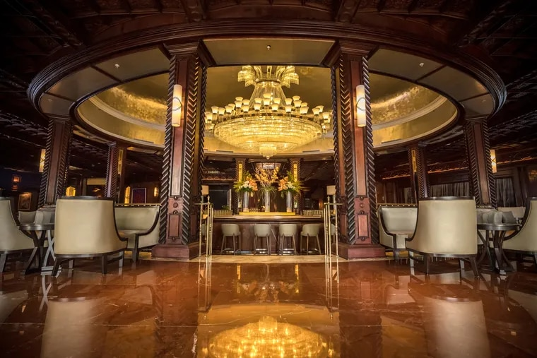 After Hurricane Maria, the staff at El San Juan took time to meticulously restore the hotel's historic features. They removed and dried the hand-carved cherry mahogany panels on walls and columns. They repainted the gold ceiling. And they cleaned each of the 7,000 pieces of crystal on the 4,500-pound chandelier that bedazzled the lobby. The repairs cost north of $60 million.  (Photo:  El San Juan Hotel)
