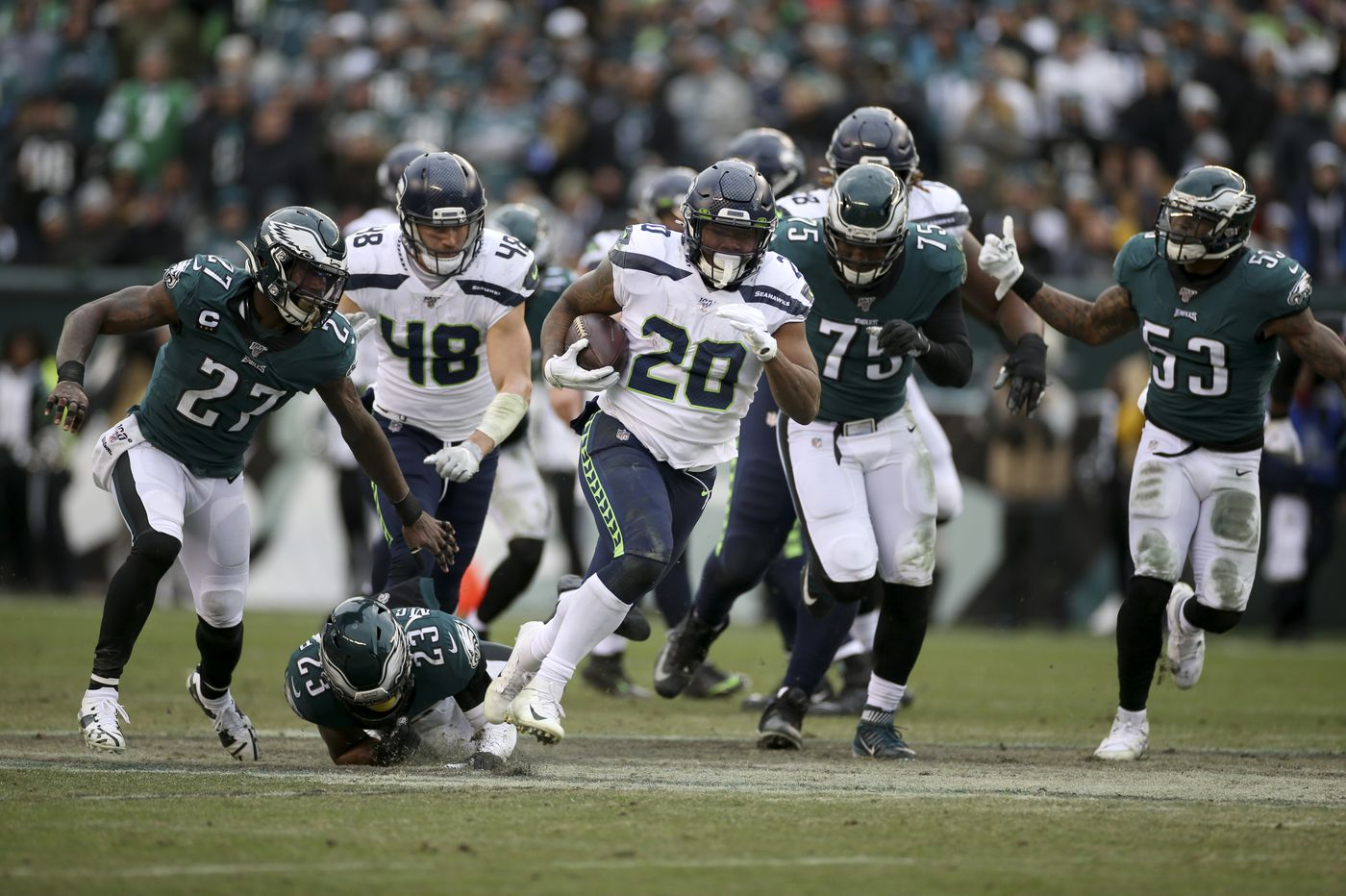Eagles-Seahawks: Five reasons for the Birds' loss | Paul Domowitch