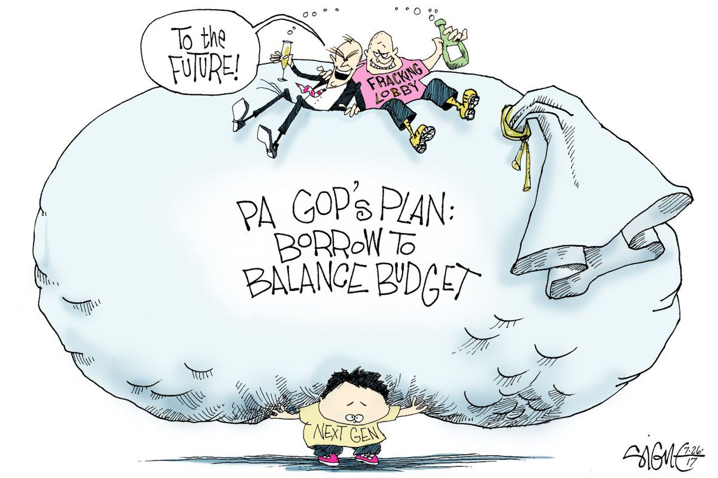Be for real, Pennsylvania; raise the state income tax to pay your bills