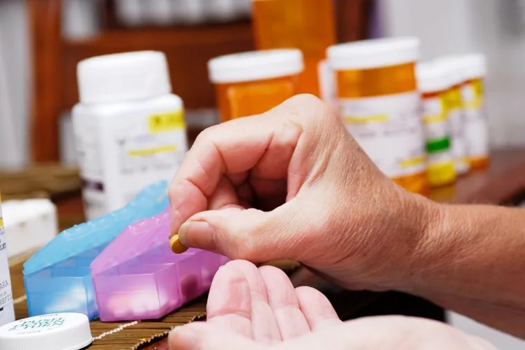 Many seniors in the U.S. take so many prescription medications — and not always for purposes that are clear — that it's common to need special pill boxes to keep dosages straight.