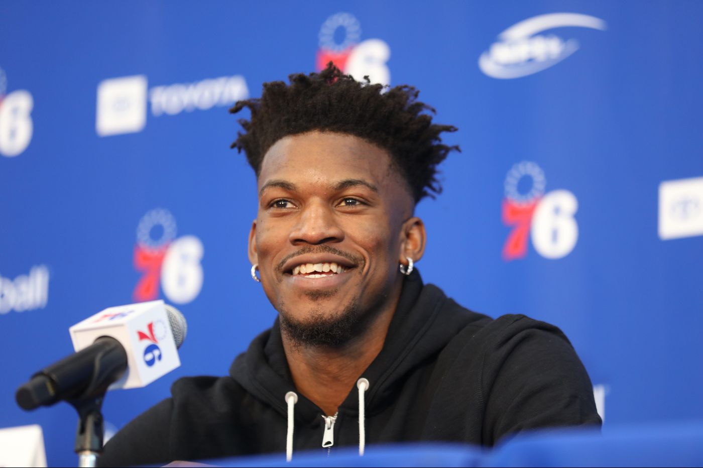 Jimmy Butler wants to help the Sixers compete for a title: 'All I've ever wanted to do is win'