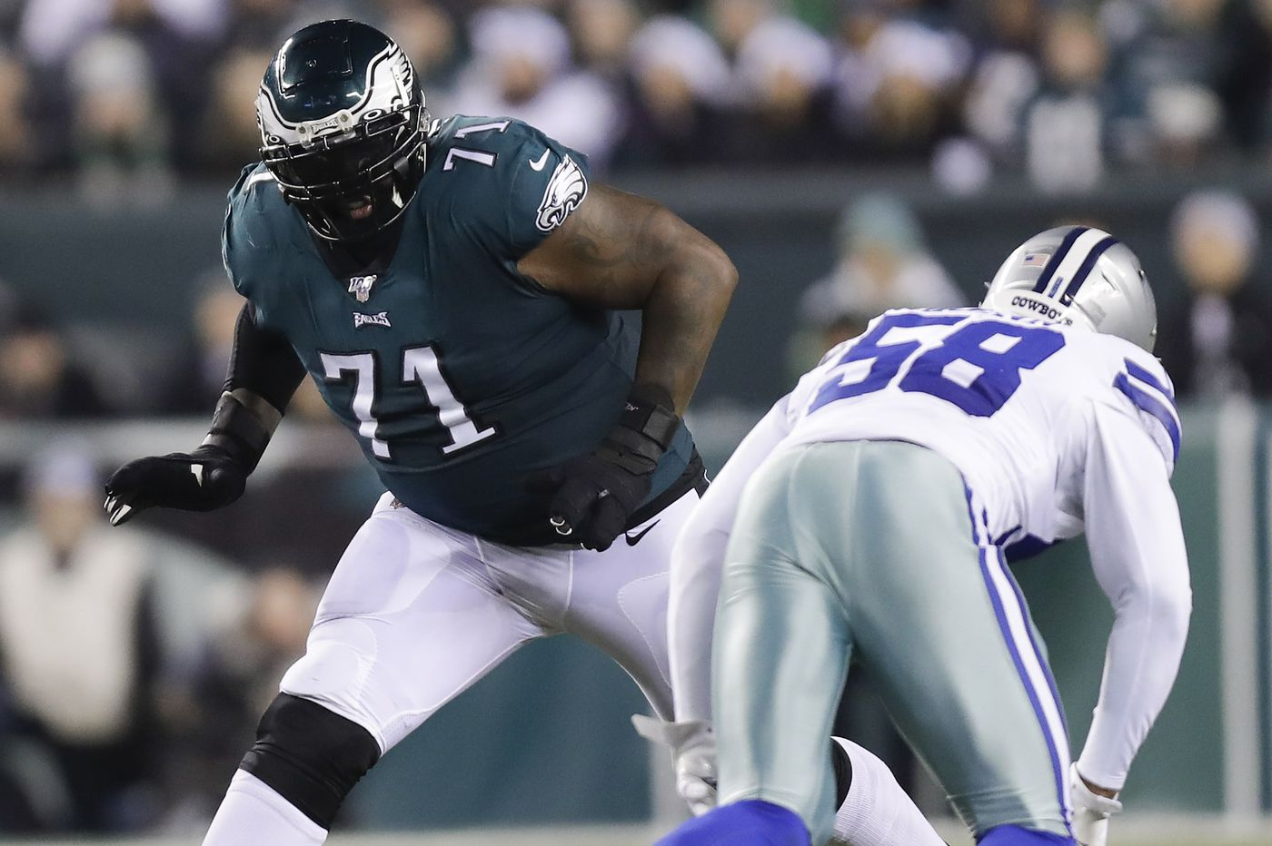Between Jason Peters and Halapoulivaati Vaitai, Eagles have tenuous situation at tackle | Mike Sielski