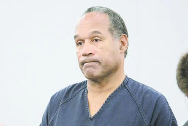 O.J. Simpson was sentencedto nine to 33 years in prison yesterday for his role in an armed confrontation. Story, A3.