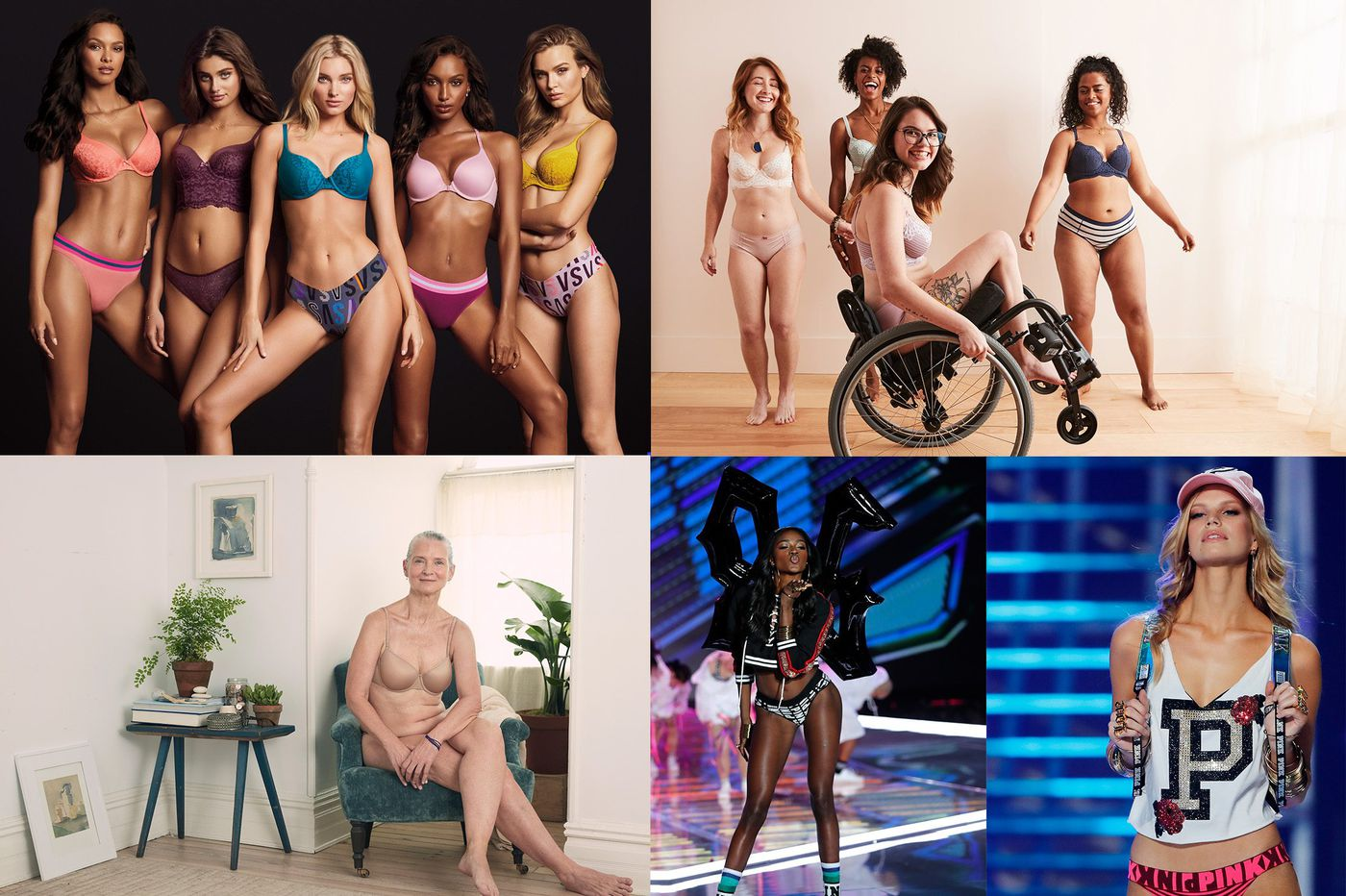 1138cf96f1ab9 Lingerie leader Victoria's Secret has new competition: Brands embracing  body positivity