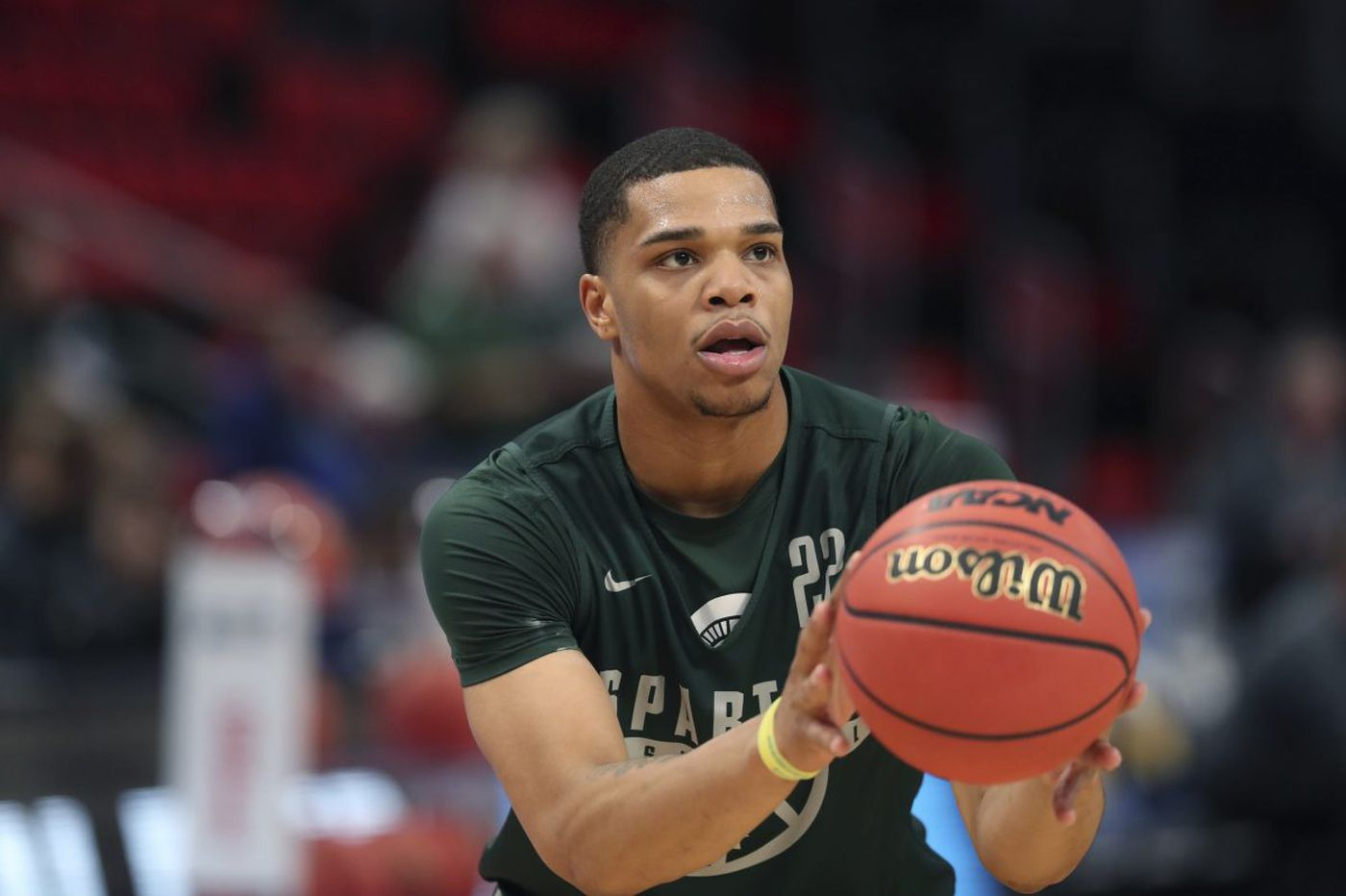 NBA draft prospect Miles Bridges sees Sixers as a good fit