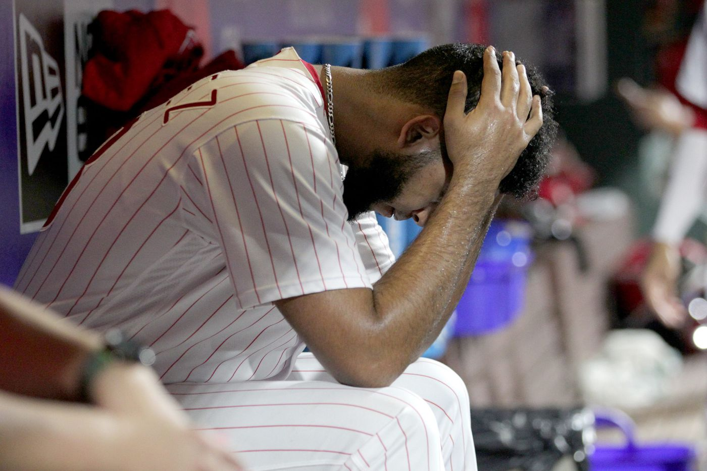 Phillies get torched by Nationals twice as tailspin continues