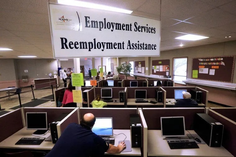 This 2016 file photo shows the Illinois Department of Employment Security office in Springfield.
