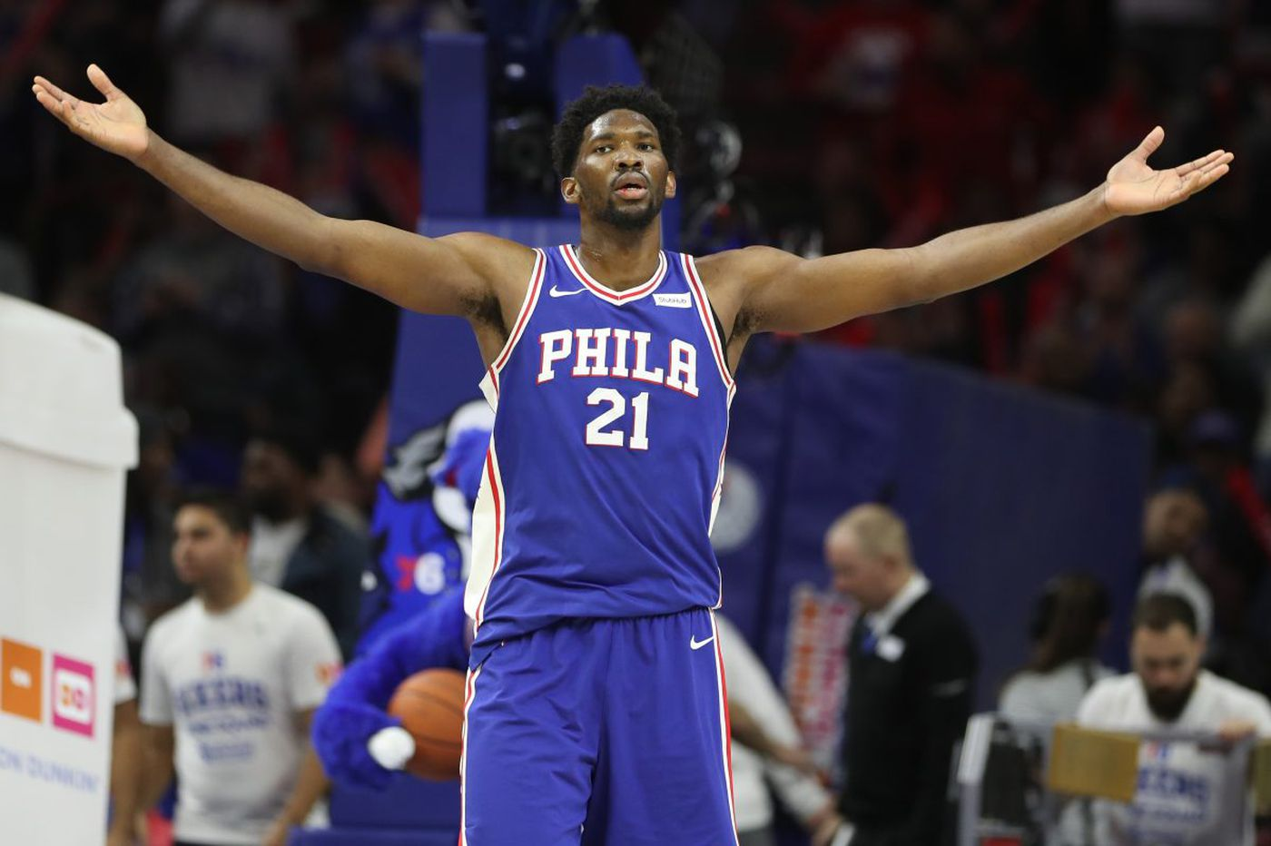 Comparing Joel Embiid s career through 50 games to Wilt Chamberlain ... 452dd58c7