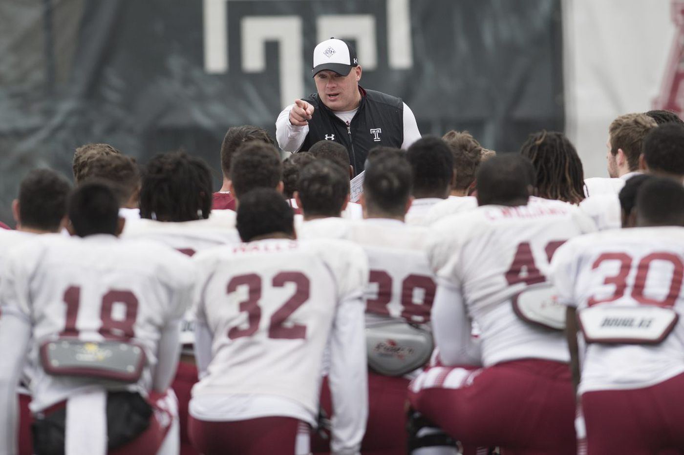 Geoff Collins looking to see players' progress at Temple's spring game