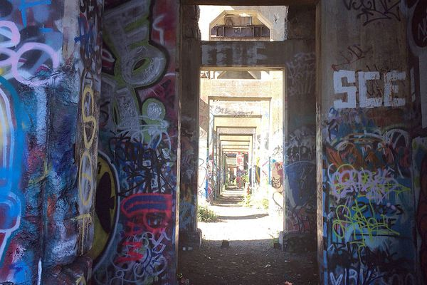 Philly's Graffiti Pier is off-limits and irresistible