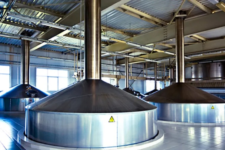 Breweries use thousands upon thousands of gallons to clean kettles, kegs and other equipment. Even more is used to irrigate farmland to raise the grain needed for malt. (shutterstock)