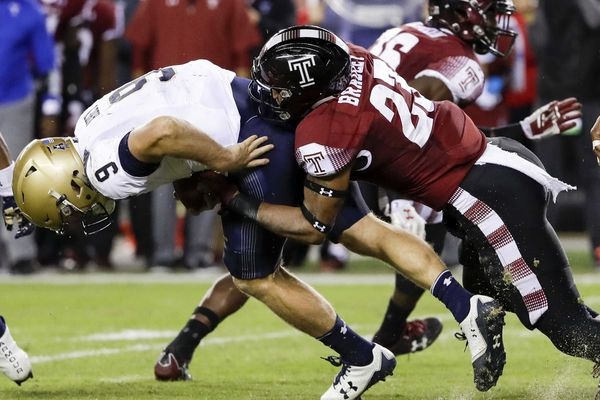 Shaun Bradley, Temple linebacking star, has overcome a gray start to his Owls career | Mike Jensen