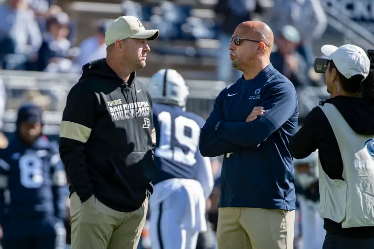 When will Penn State head coach James Franklin lead the Nittany Lions on the field again? It's anyone's guess.