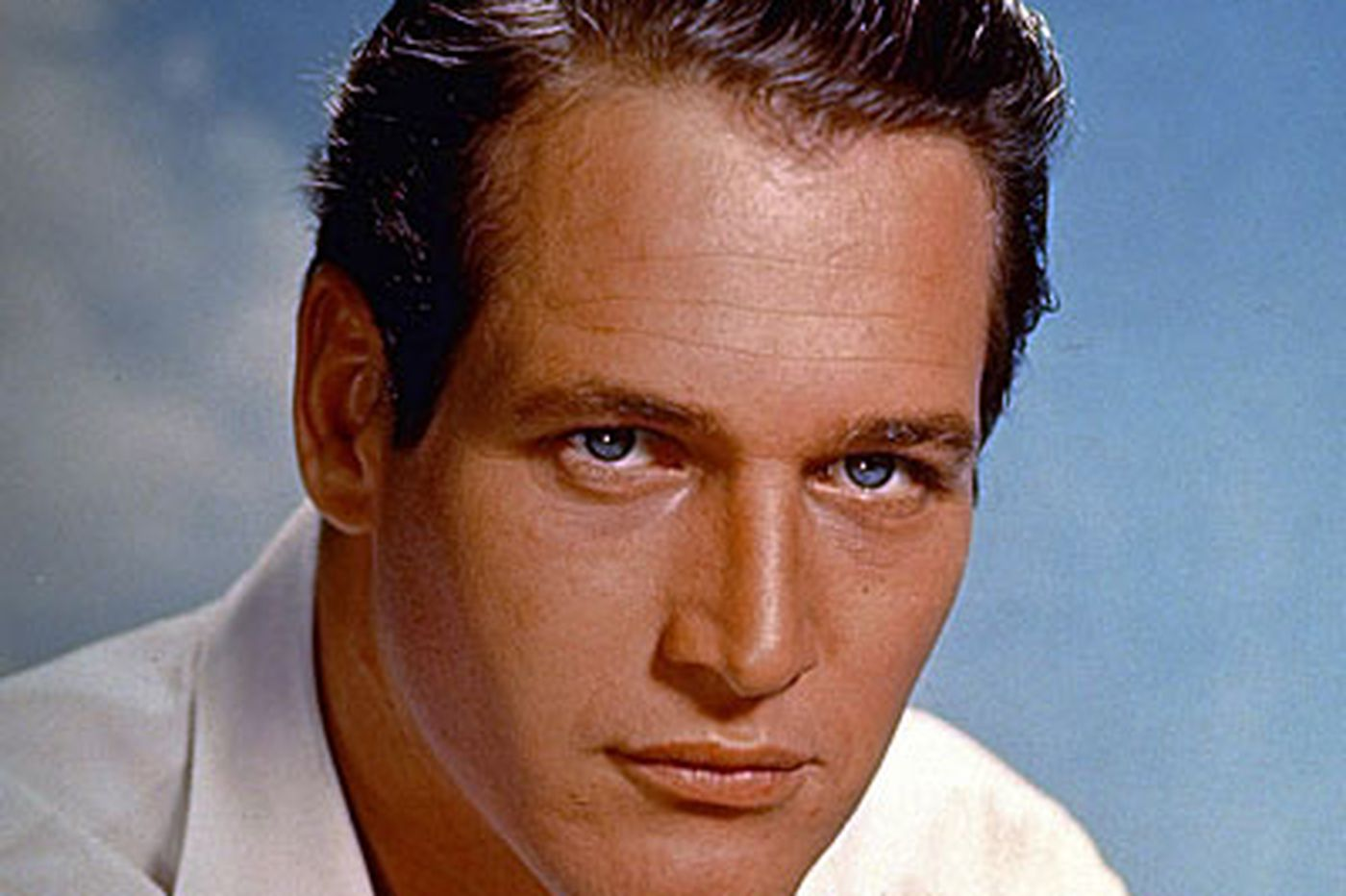 Paul Newman, 83, the Hollywood icon with the famous blue eyes