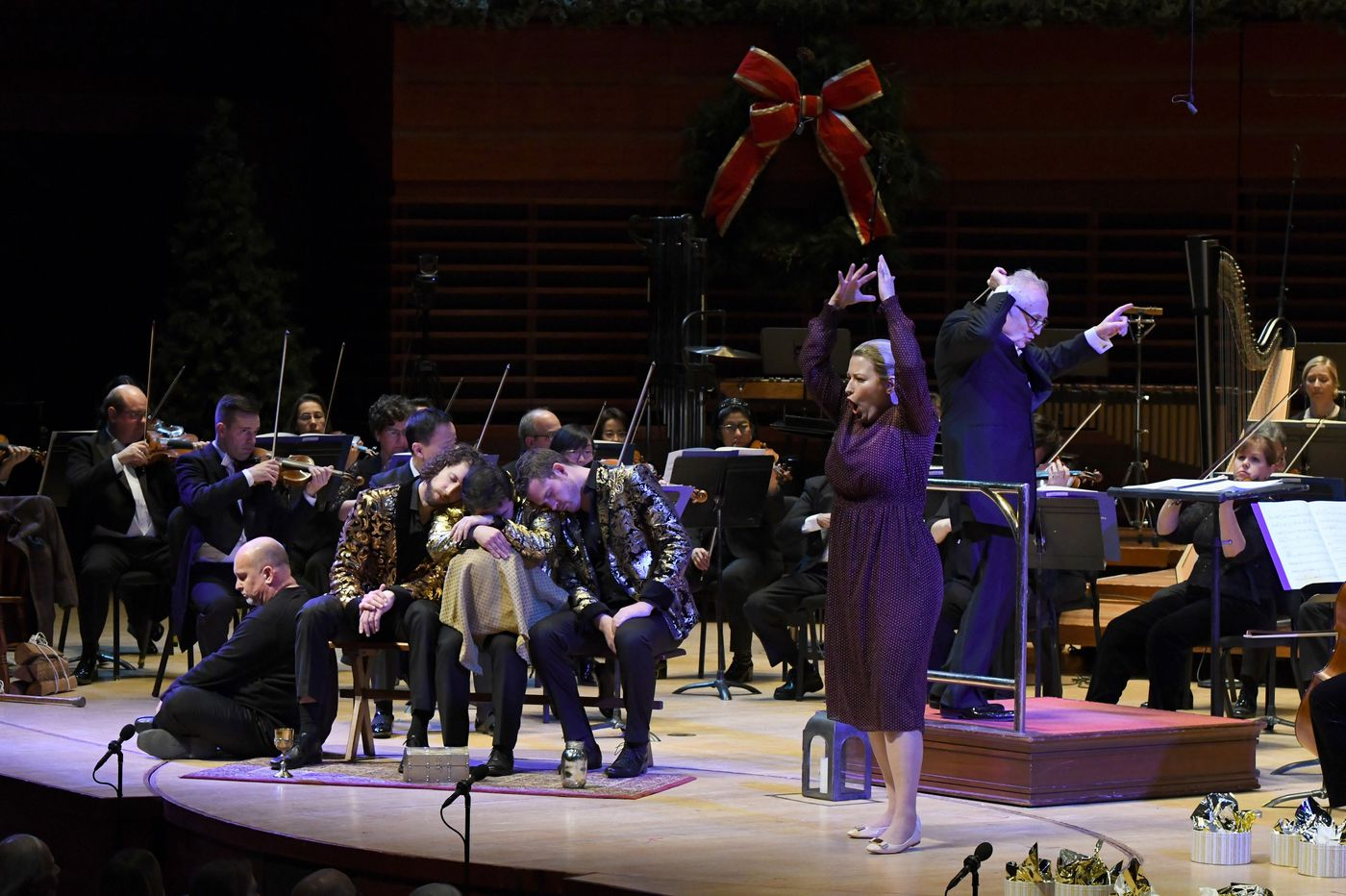 Finally! A Philadelphia Orchestra performance of 'Amahl and the Night Visitors' — still gorgeous