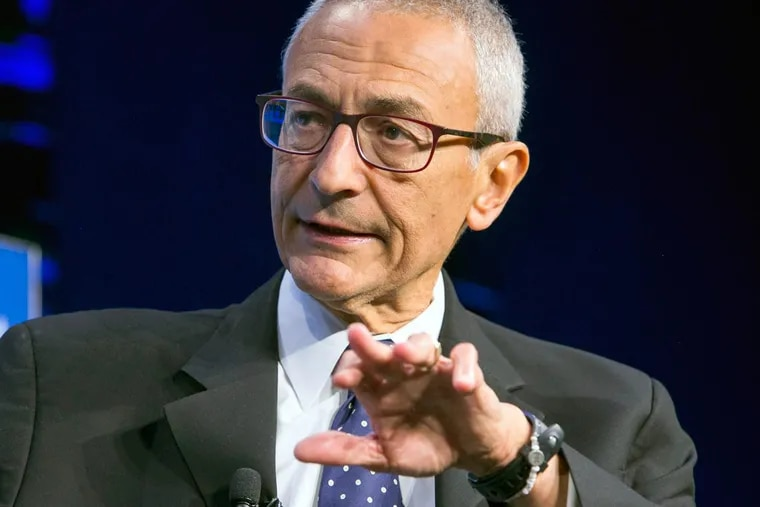 John Podesta, now 68, made his name on the inside, working for the Clinton and Obama administrations.