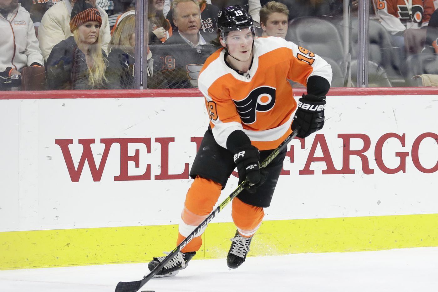 Flyers' Nolan Patrick says going 22 games without a goal 'will make me stronger'