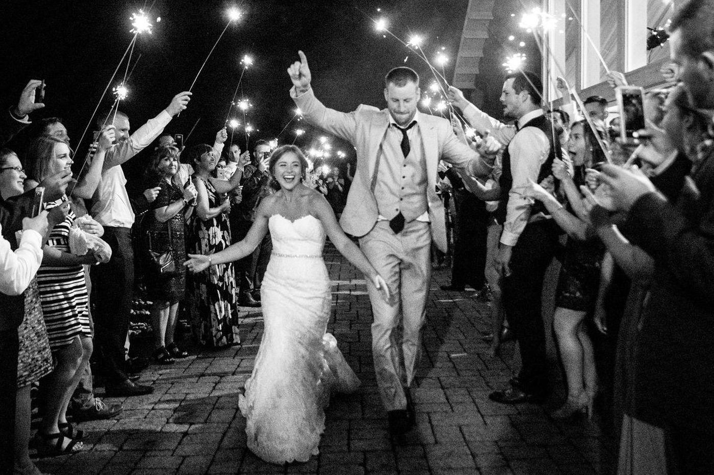 Carson Wentz got married in Bucks County over the weekend