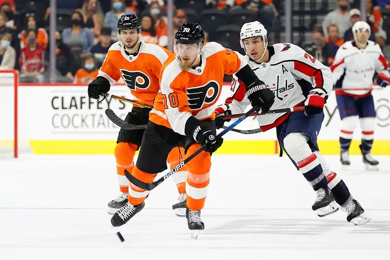 New Flyers defenseman Rasmus Ristolainen will miss the team's opener Friday due to an upper-body injury.