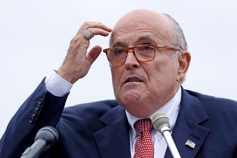 The latest scattershot media blitz by Rudy Giuliani, an attorney for President Donald Trump, was filled with a dizzying array of wild misstatements, hurried clarifications and eyebrow-raising assertions, which agitated Trump and some of his allies.
