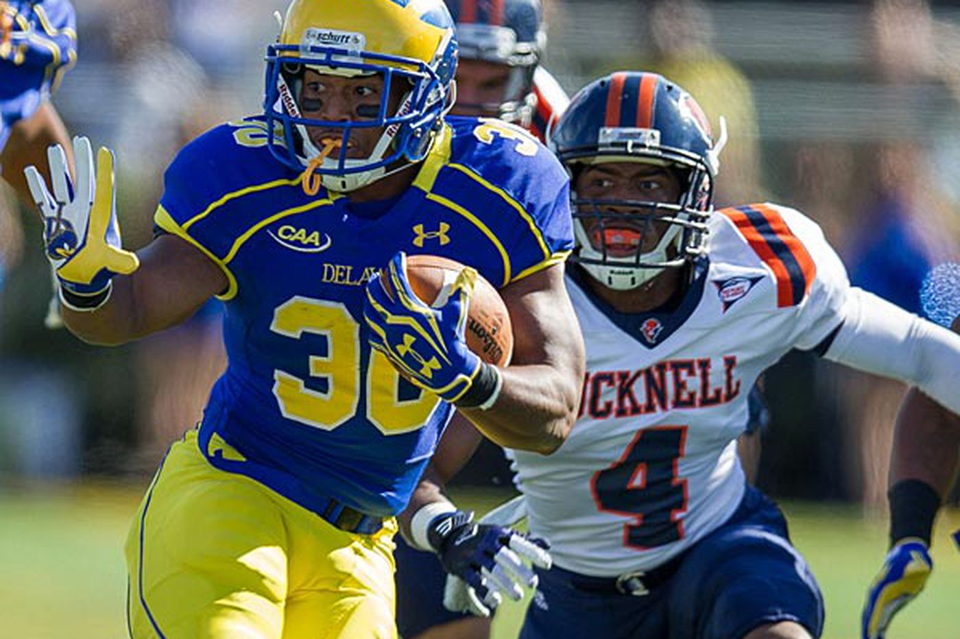 Delaware's Pierce still has his eyes on the prize