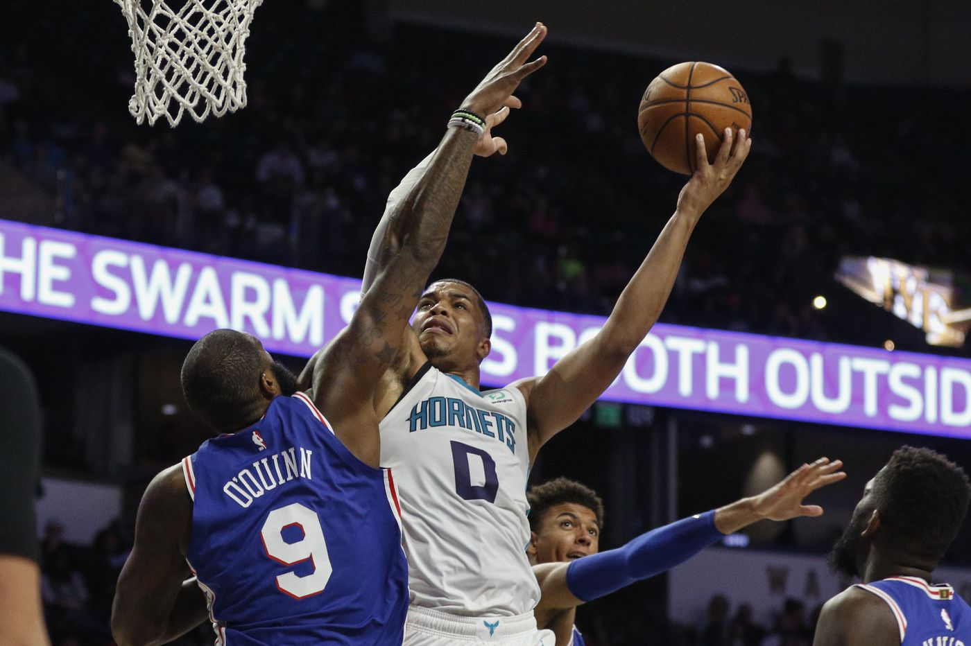 Matisse Thybulle impresses again as Sixers sting Hornets, 100-87