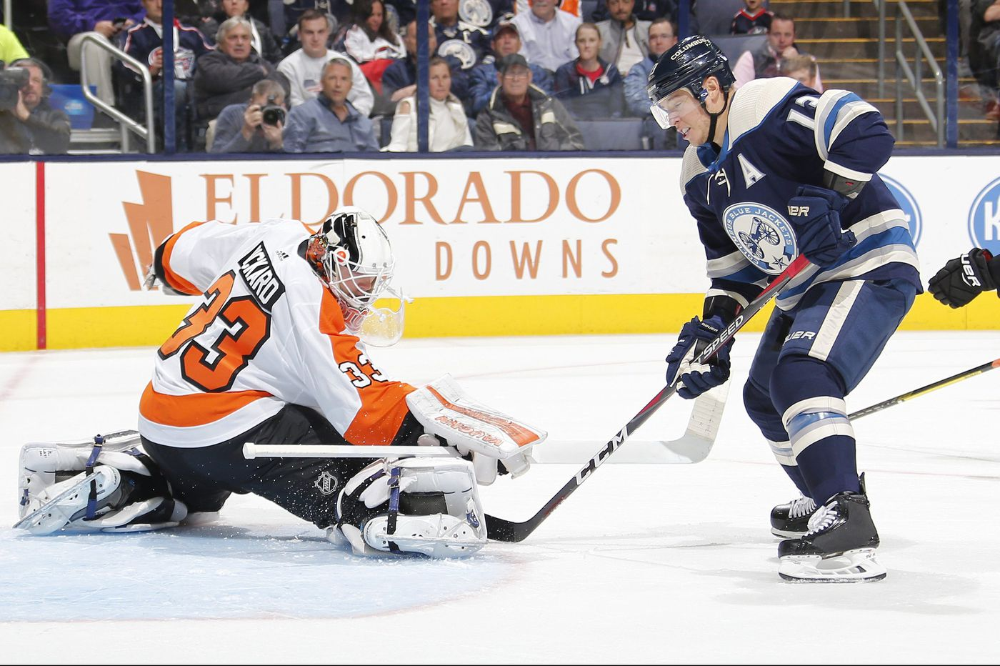 Flyers lose to Columbus Blue Jackets as defensive woes continue