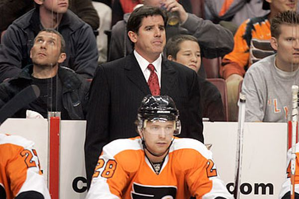 Flyers pay coach's penalty at practice
