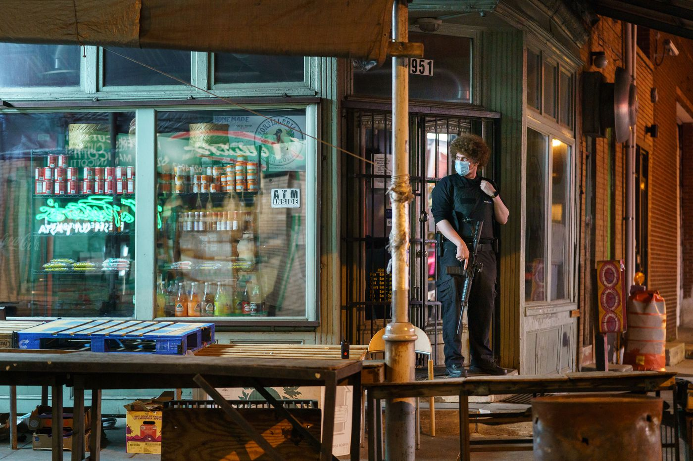 Italian Market and Manayunk business owners hired armed security agents to scare off looters