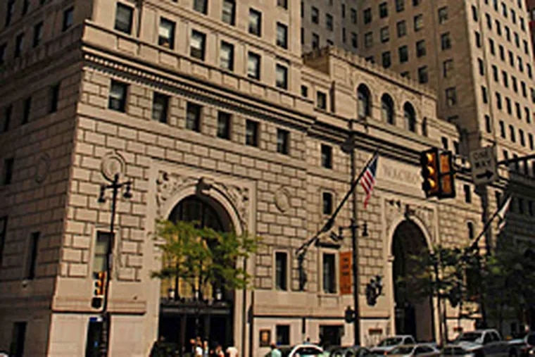 Wells Fargo's regional headquarters at 123 South Broad St. was inherited from Fidelity Bank, one of several acquired Philadelphia lenders. The Wells Fargo Regional Foundation is pausing its grantmaking as it reassesses priorities.