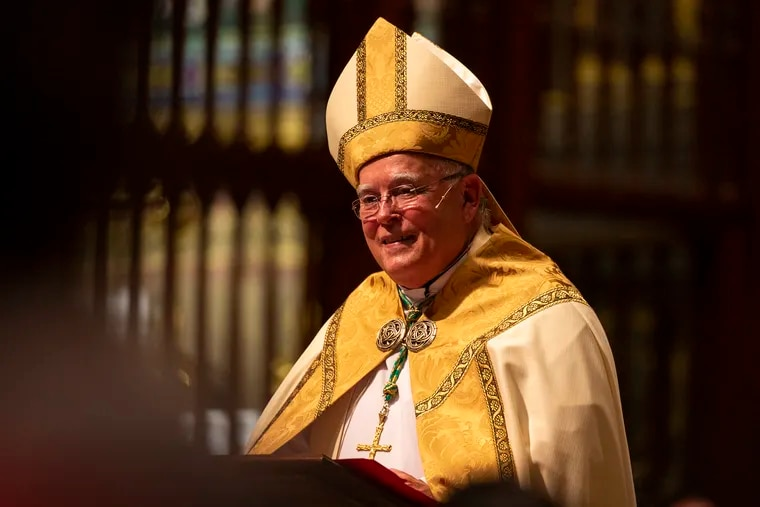 Shown here at a Sept. 5 ceremony to celebrate several staff members awarded papal honors from Pope Francis, Archbishop Charles J. Chaput turns 75 on Thursday and is expected to announce his retirement soon.