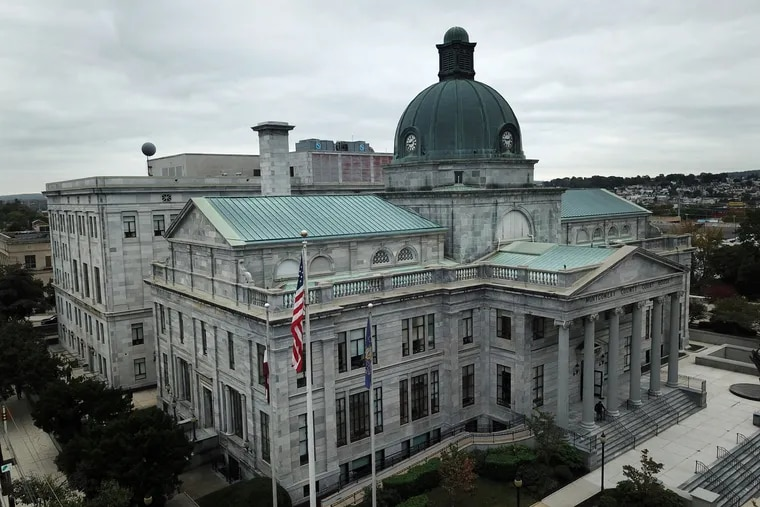 Montgomery County Courthouse in Norristown.