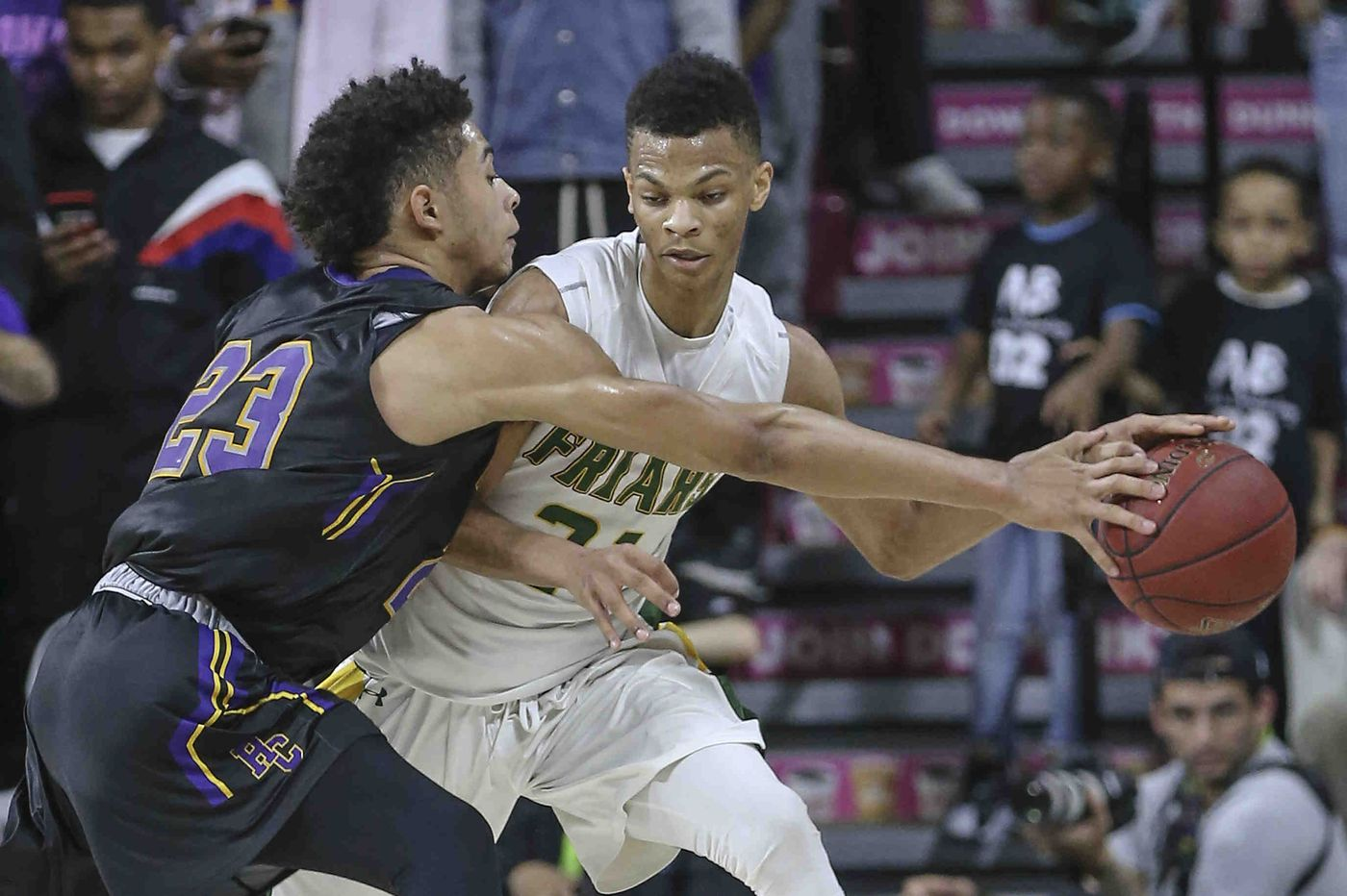 Isaiah Wong, Bonner-Prendergast fend off Donta Scott, Imhotep to win Class 4A District 12 championship