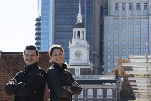There are two Philly competitors on this season of 'Top Chef'