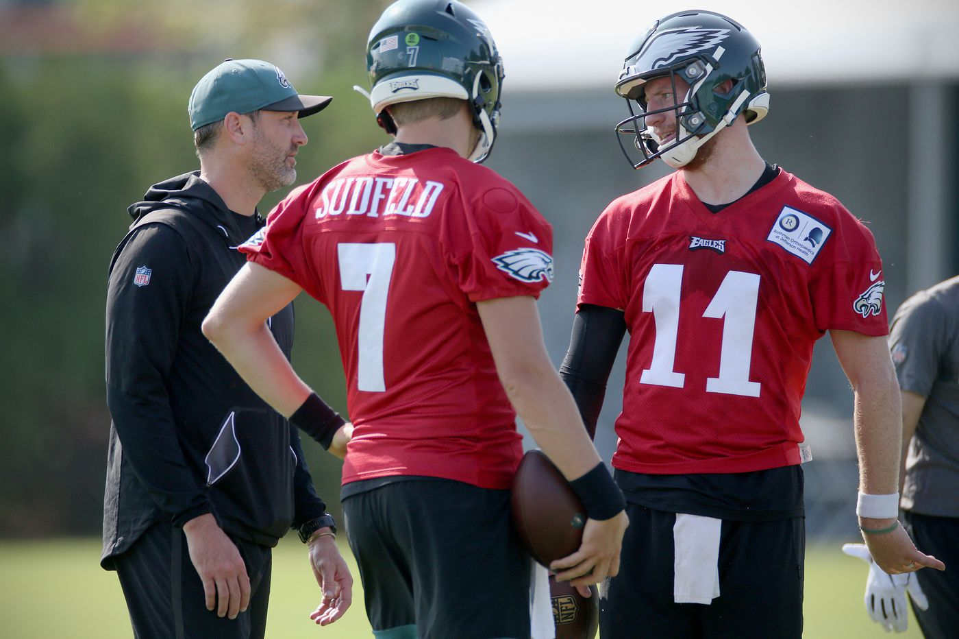 Eagles practice observations: Cornerback competition, Nate Sudfeld developing, last wide receiver battle