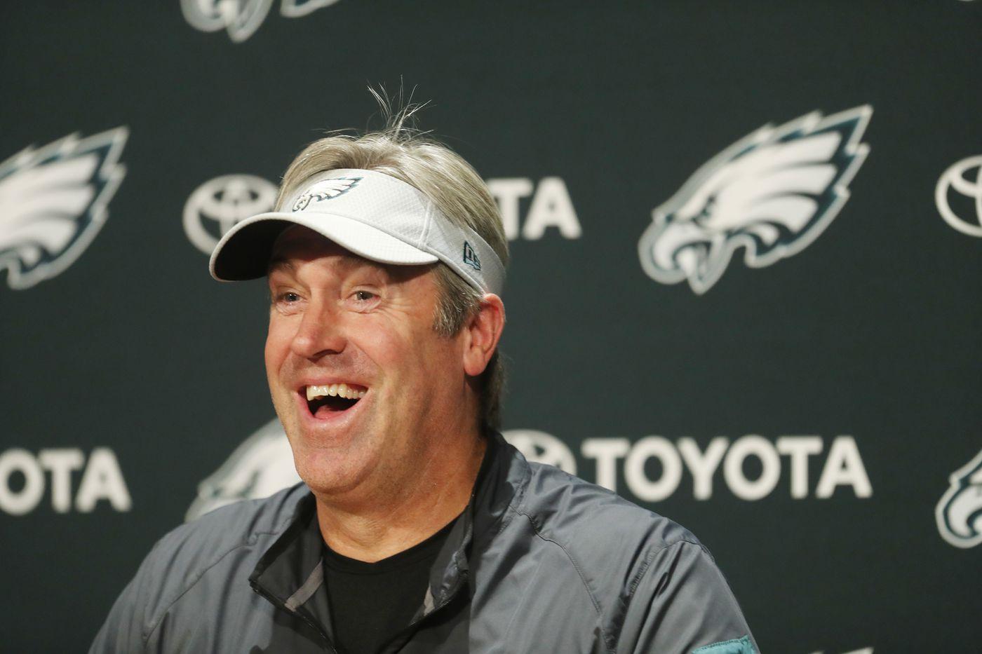 Eagles coach Doug Pederson's press conference at 10:15 | Live video