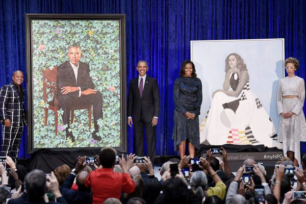 Why what you think about the Obamas' National Portrait Gallery paintings doesn't matter | Elizabeth Wellington