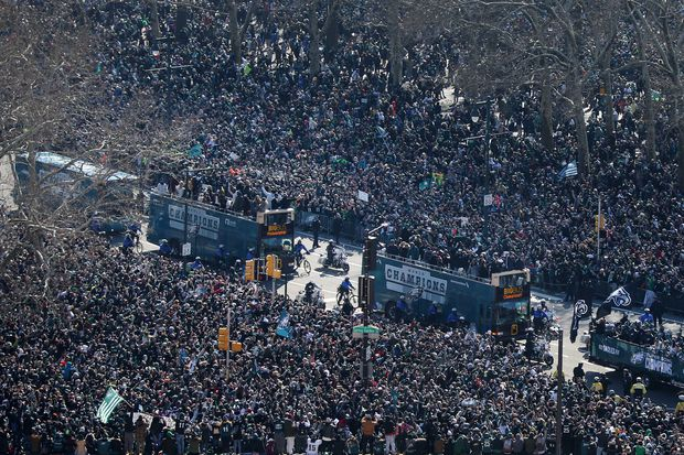 Patriots parade: Boston won't match the Eagles' celebration from last year