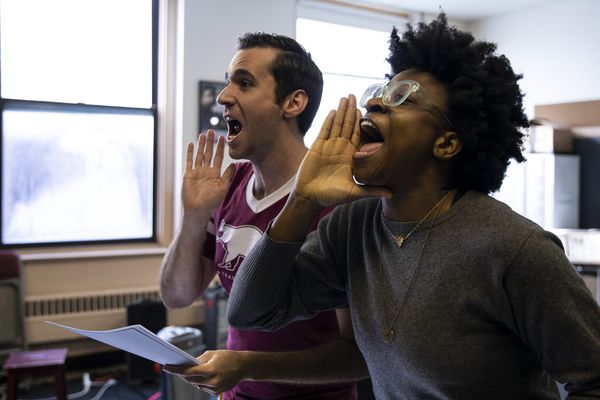 Where 'Giuliani' is its own punch line: Inside the writers' room at Philly's 1812 Productions