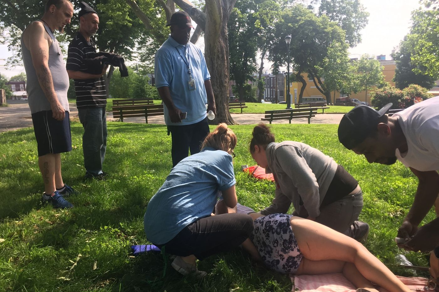 For these Philly librarians, drug tourists and overdose drills are part of the job