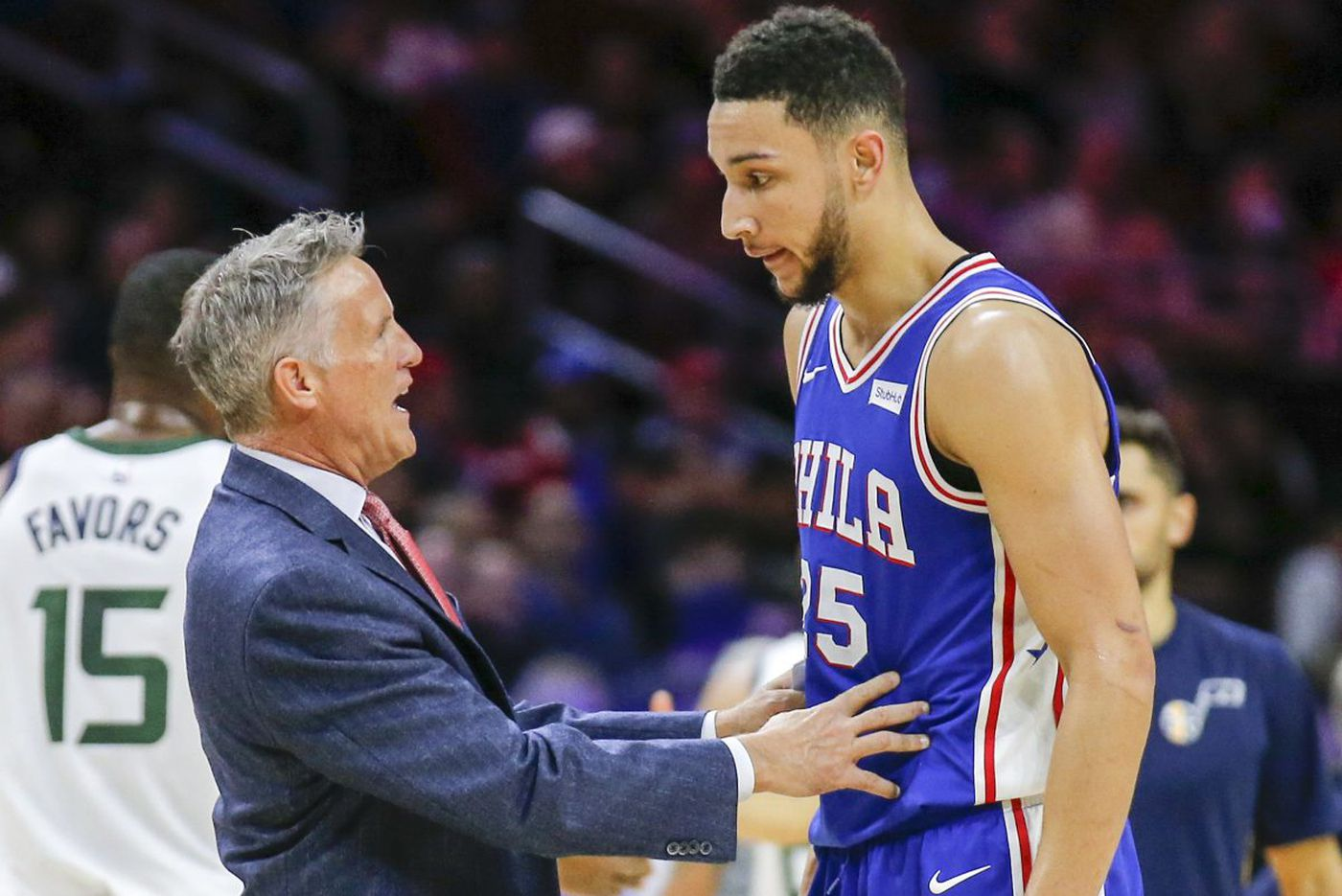 Sixers' Brett Brown stands by statement about youth causing turnovers