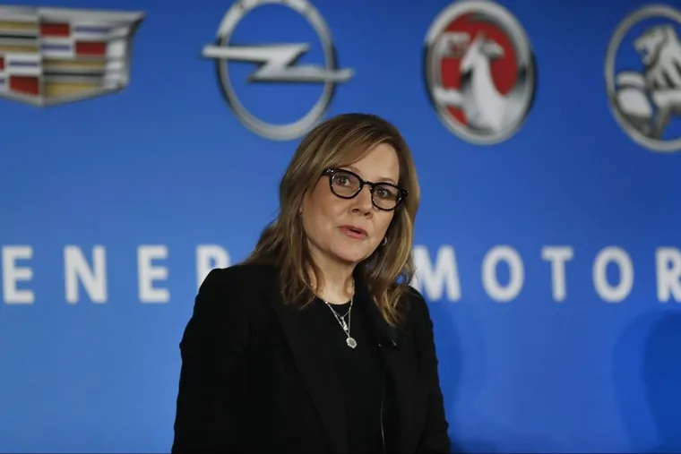 General Motors Chairman and CEO Mary Barra earlier this year in Detroit.