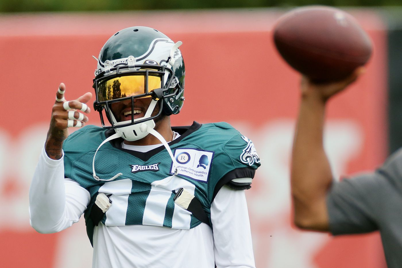 Eagles' DeSean Jackson says he learned from mistakes, and tries to lead on and off the field