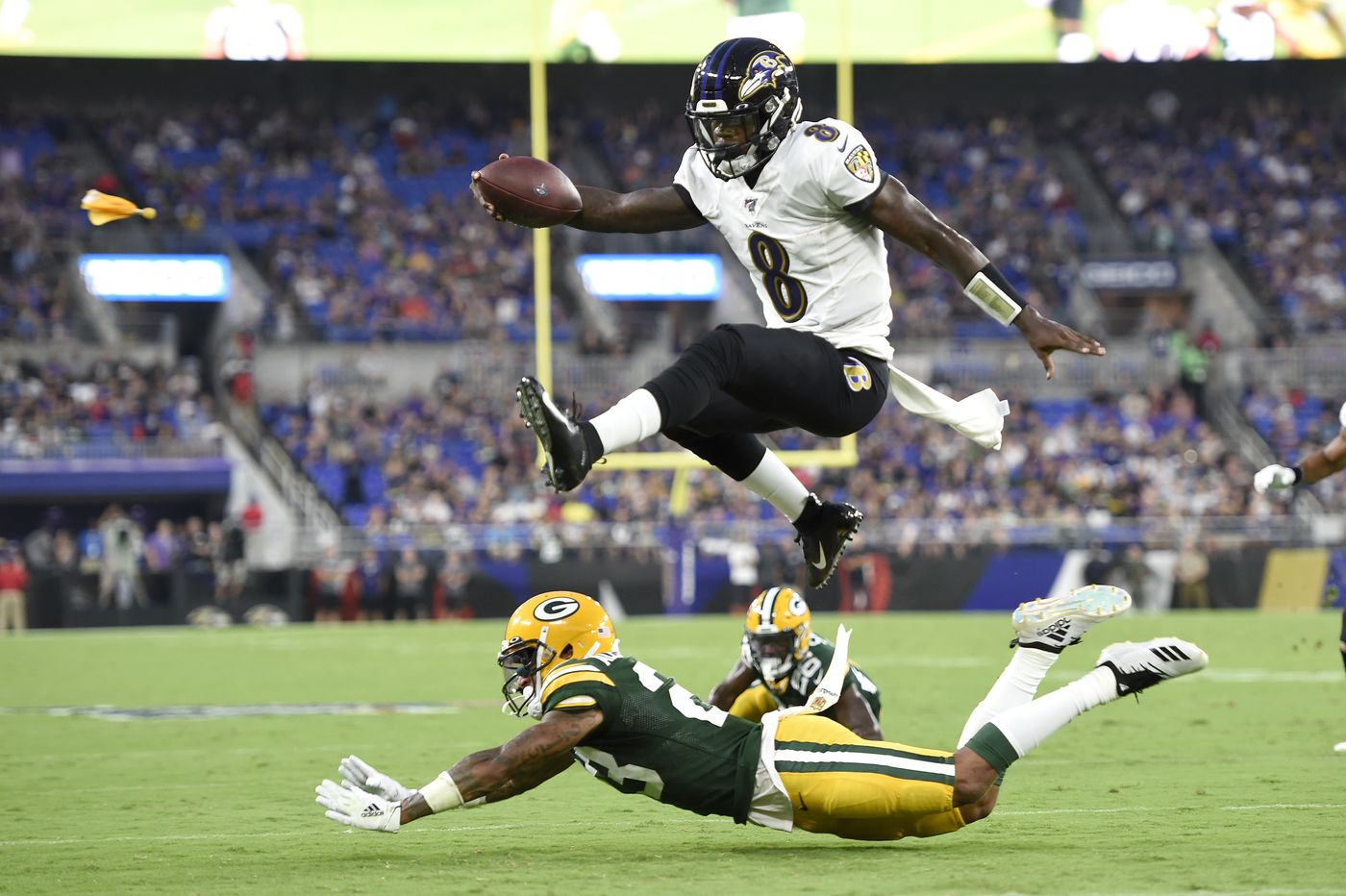 The Eagles face Lamar Jackson for the first time; here are some facts and figures, and a look at the remaining QBs on the schedule