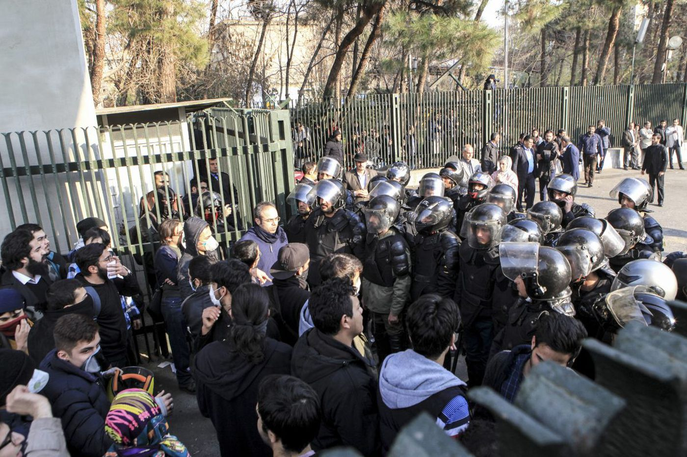 Understanding the protests in Iran means digging much deeper than Trump's tweets | Trudy Rubin