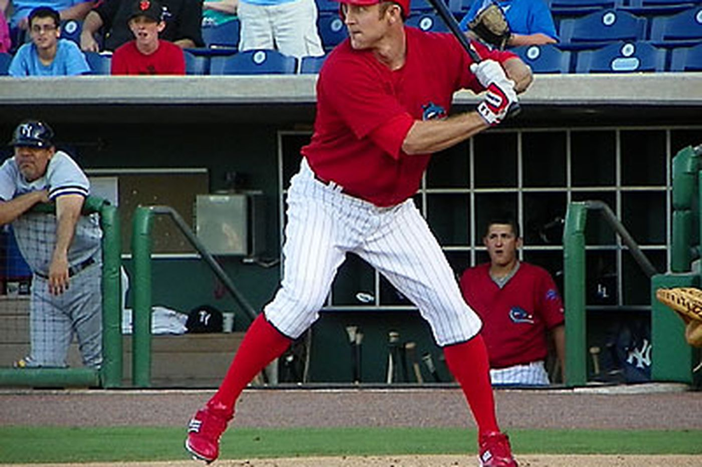 Phillies second baseman Chase Utley sees progress despite 0-for-5 night in rehab game with Clearwater Threshers